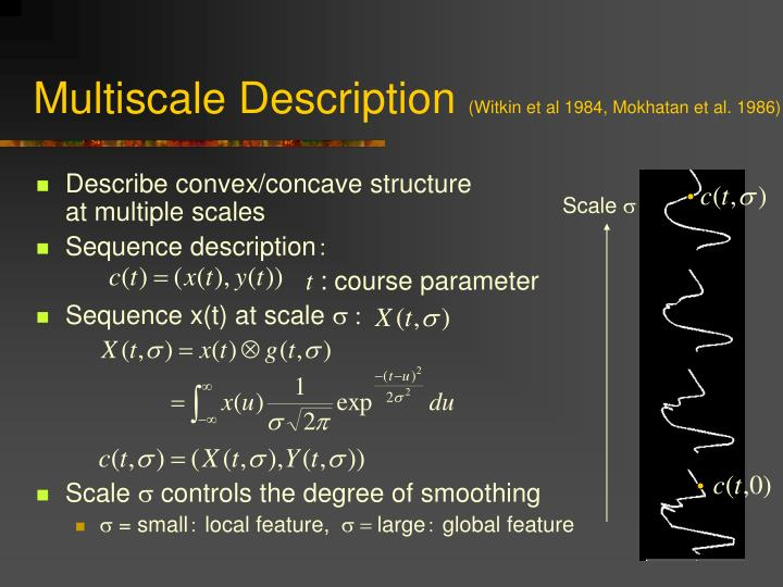 Multiscale Description