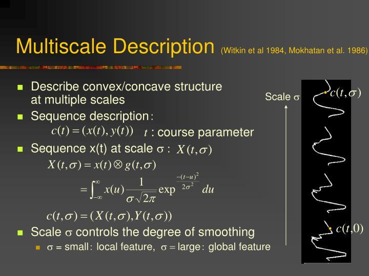 Multiscale Description