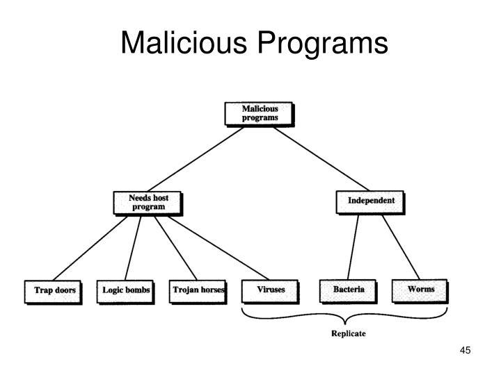 Malicious Programs