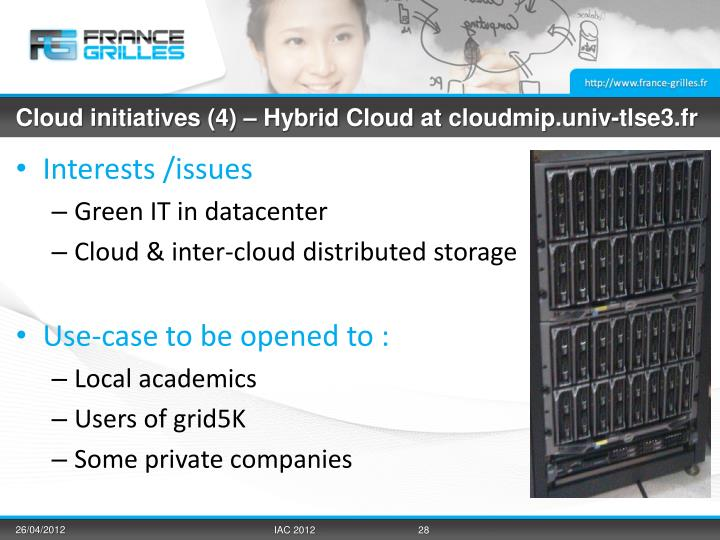 Cloud initiatives