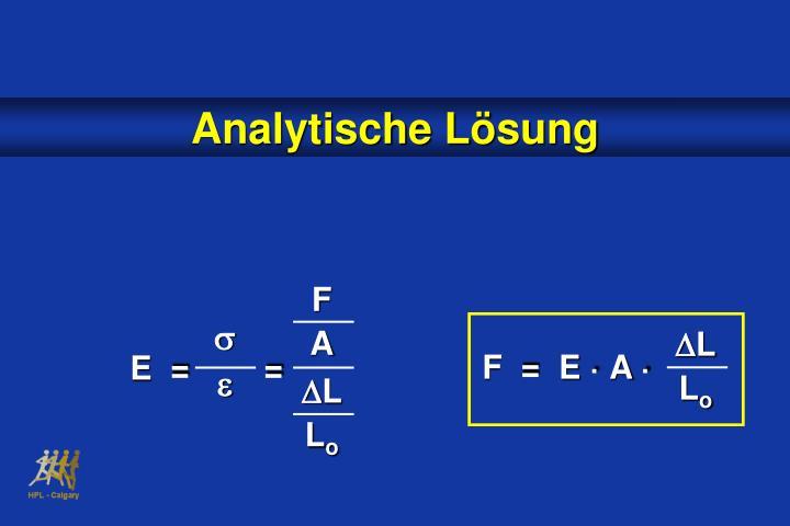 Analytische L
