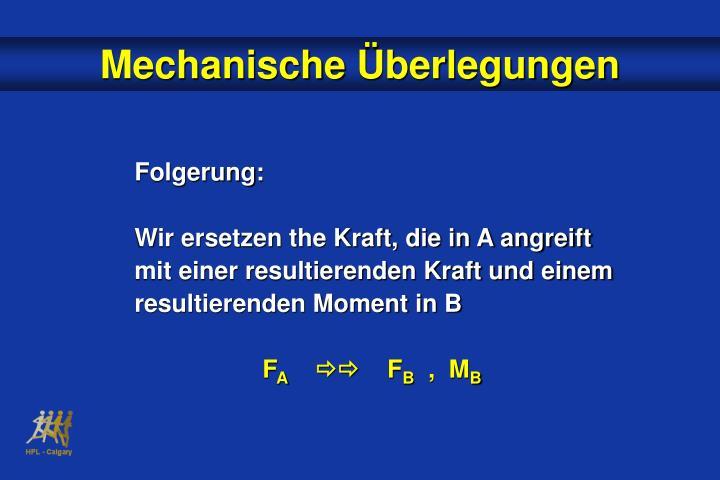 Mechanische