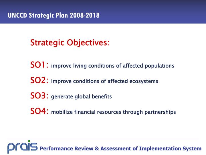 Unccd strategic plan 2008 2018