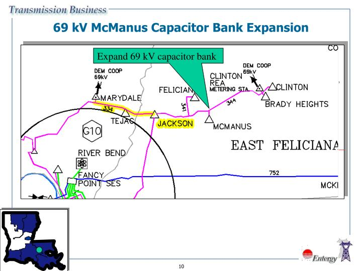 69 kV McManus Capacitor Bank Expansion