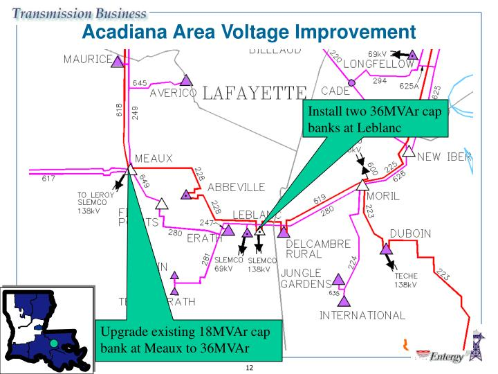 Acadiana Area Voltage Improvement