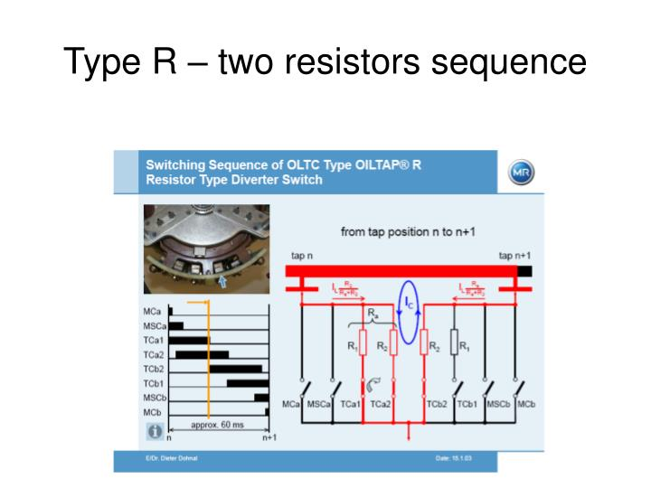 Type R – two resistors sequence