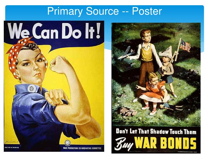Primary Source -- Poster