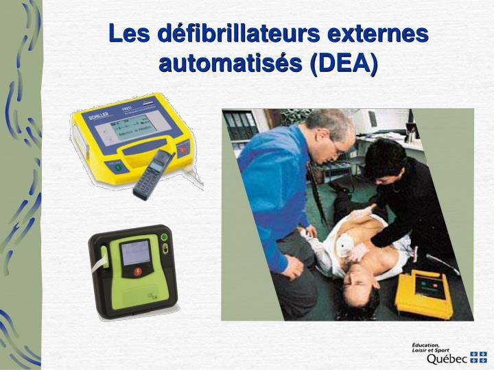 Les défibrillateurs externes