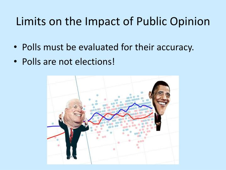 Limits on the Impact of Public Opinion