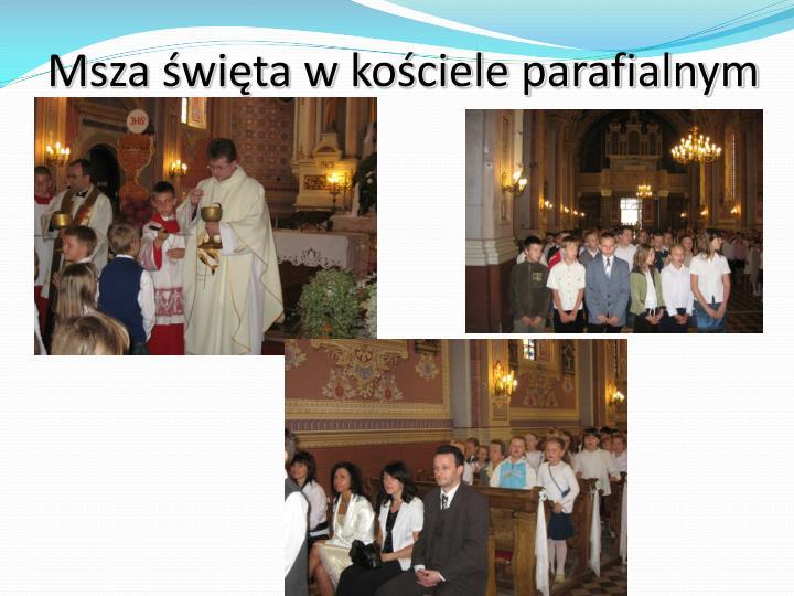 Msza święta w