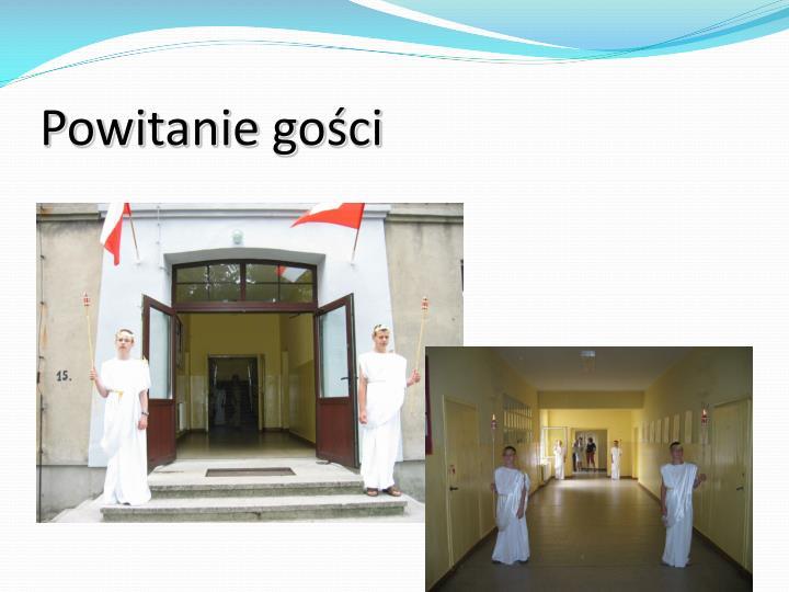 Powitanie gości