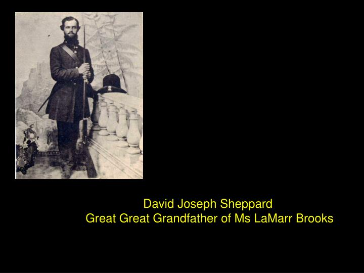 David Joseph Sheppard
