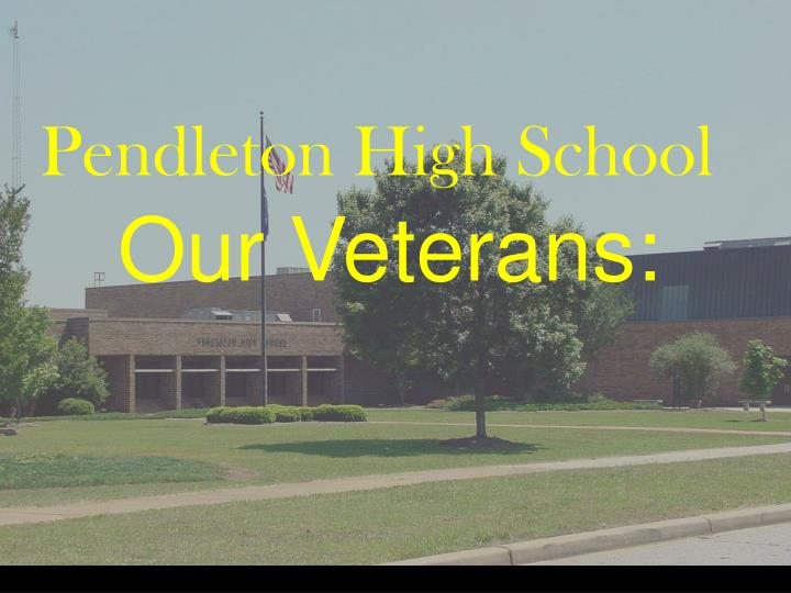 Pendleton High School