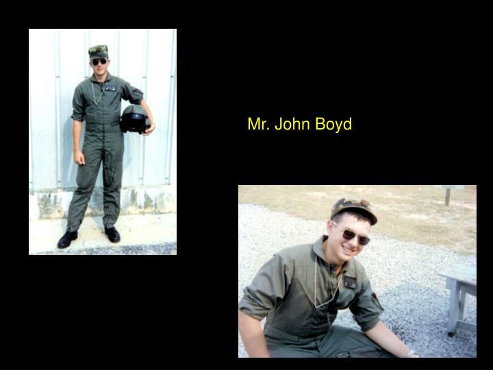 Mr. John Boyd