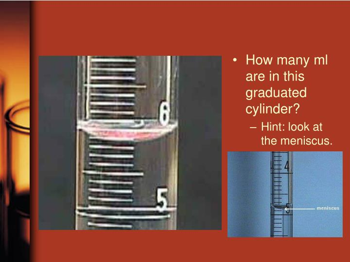 How many ml are in this graduated cylinder?