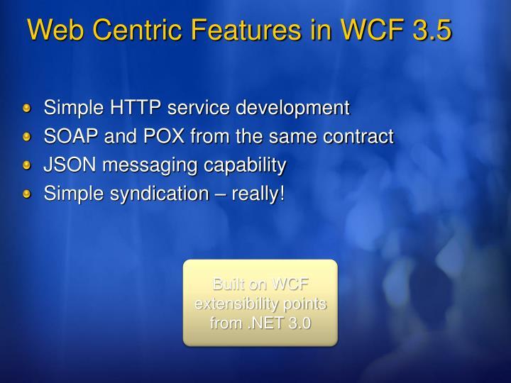 Simple HTTP service development