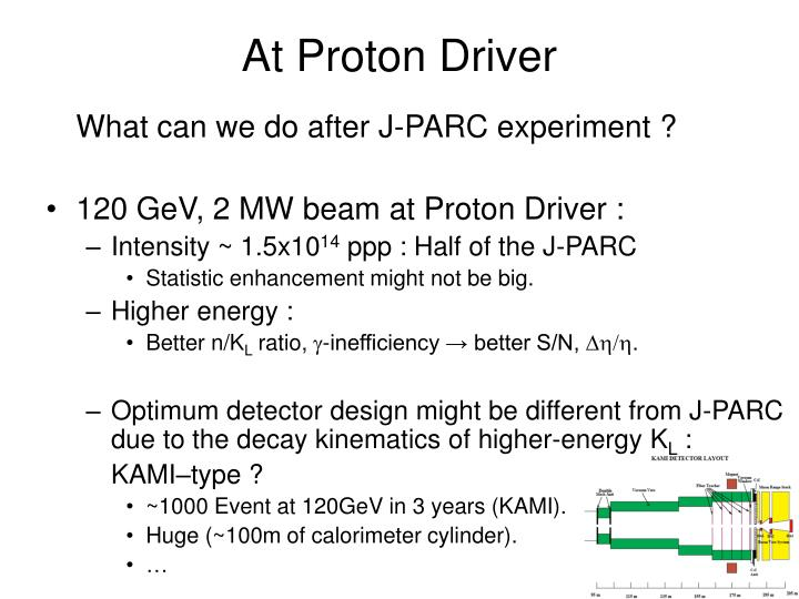 At Proton Driver