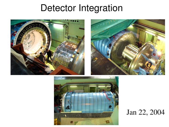 Detector Integration