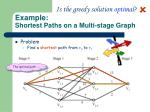 example shortest paths on a multi stage graph1