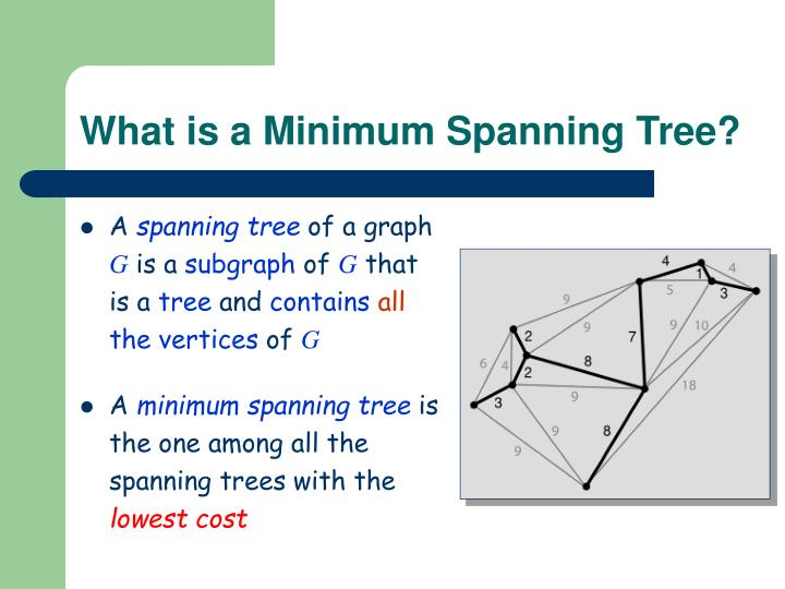 What is a Minimum Spanning Tree?