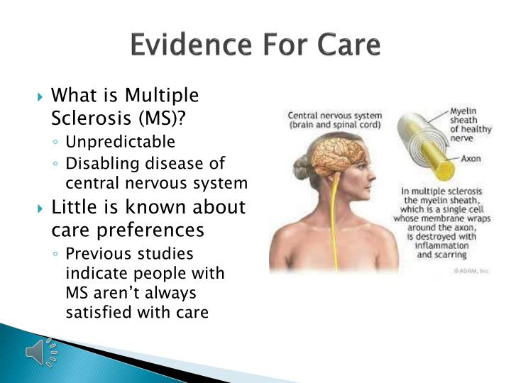 Evidence For Care