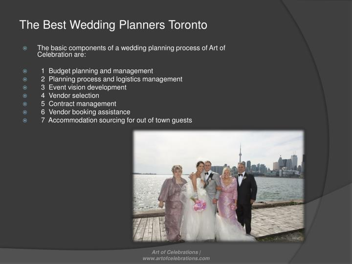 The Best Wedding Planners