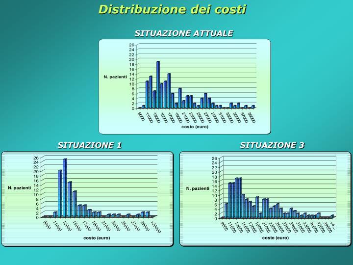 Distribuzione dei costi