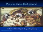 panama canal background
