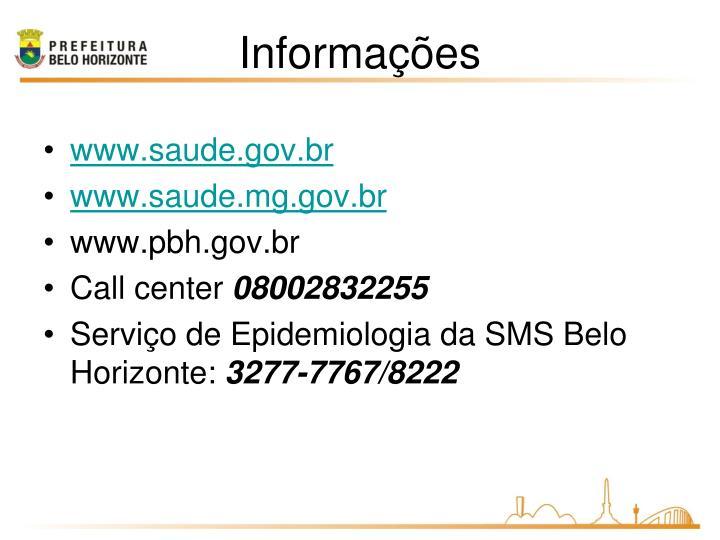 www.saude.gov.br