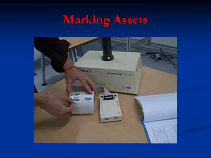 Marking Assets