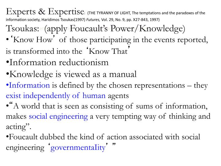 Experts & Expertise