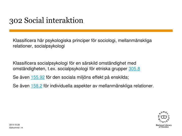 302 Social interaktion