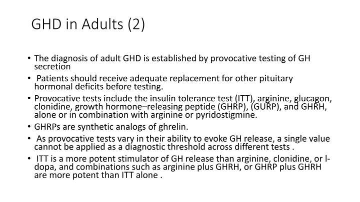 GHD in Adults (2)