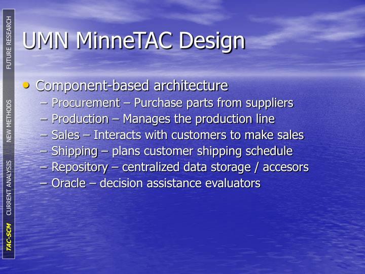 UMN MinneTAC Design