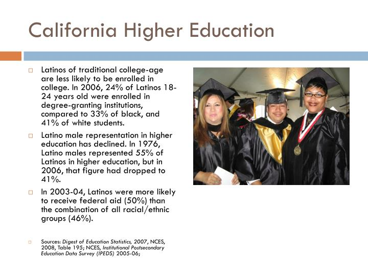 California Higher Education