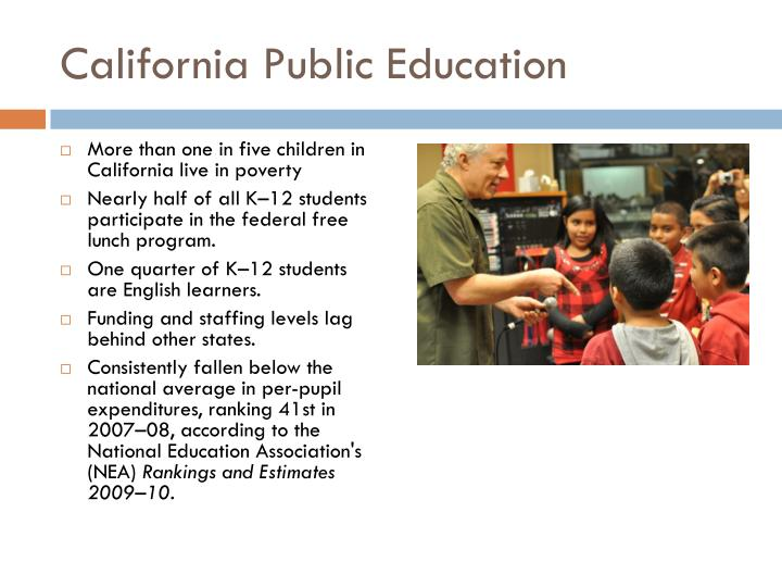 California Public Education
