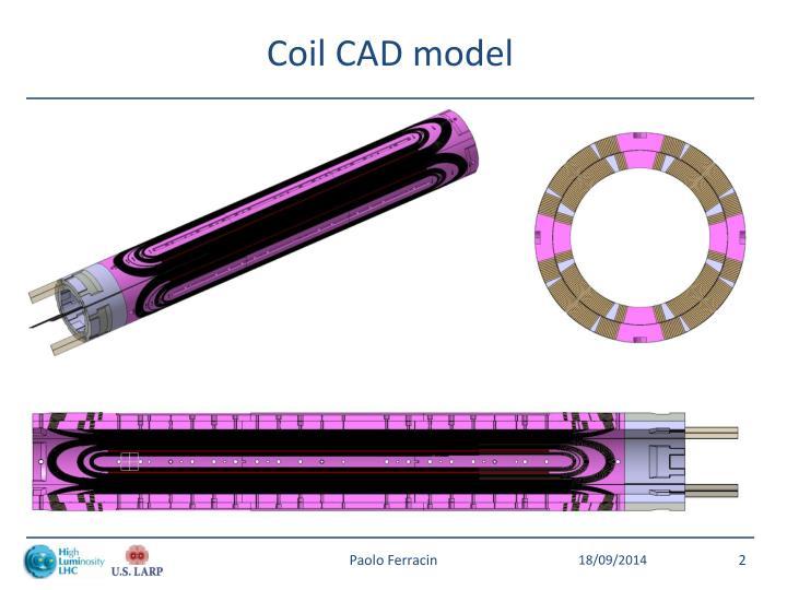 Coil CAD model