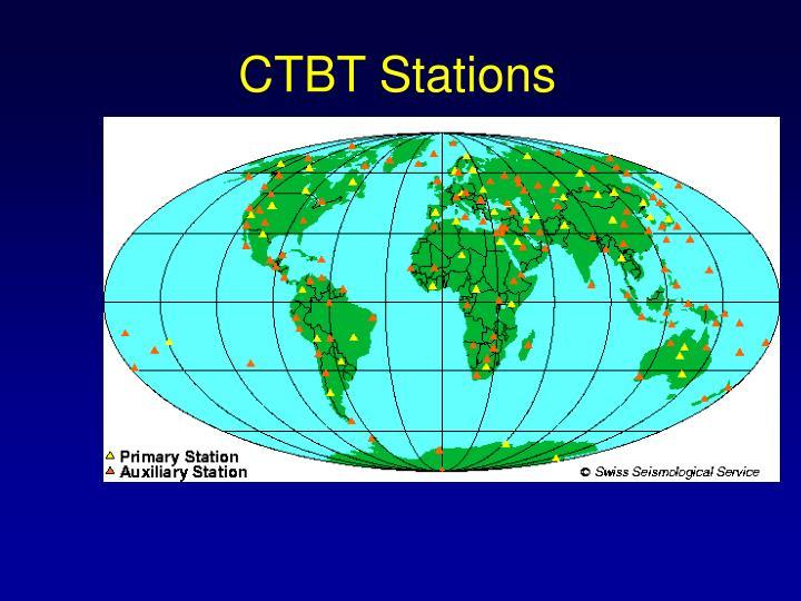 CTBT Stations