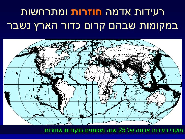 רעידות אדמה