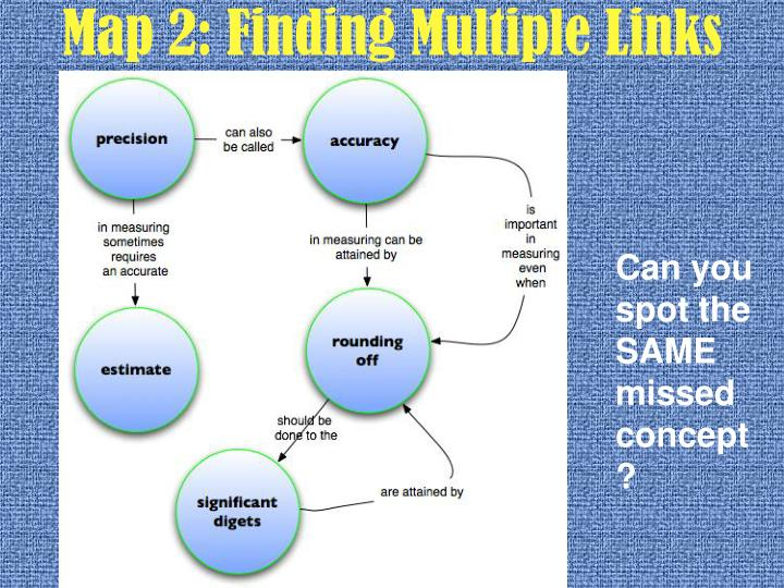 Map 2: Finding Multiple Links