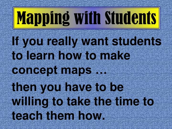 Mapping with Students