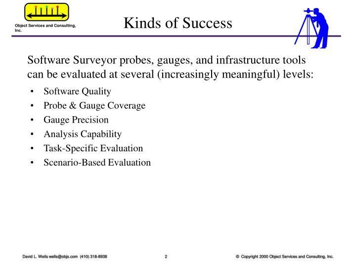 Kinds of success