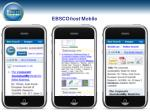 ebsco host mobile