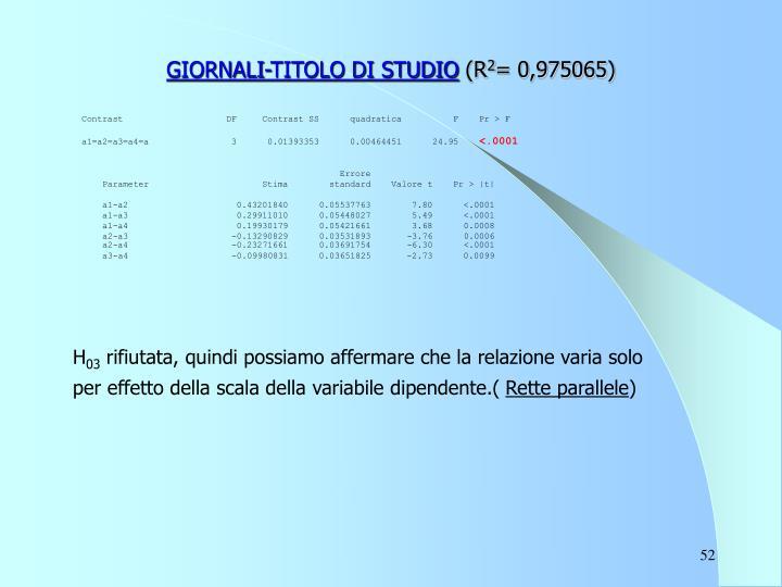 GIORNALI-TITOLO DI STUDIO
