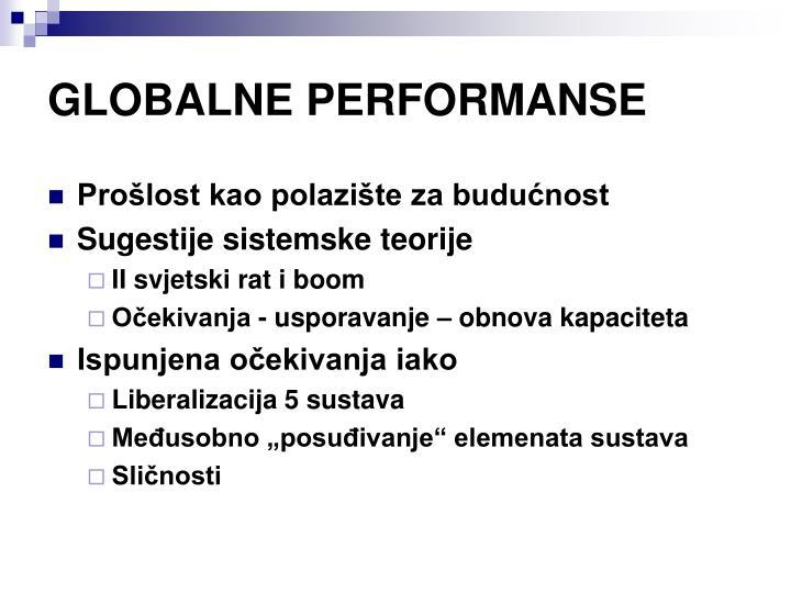 GLOBALNE PERFORMANSE
