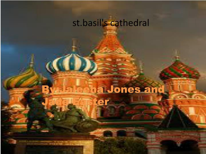 st.basil's cathedral