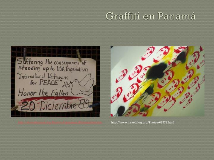 Graffiti en Panamá