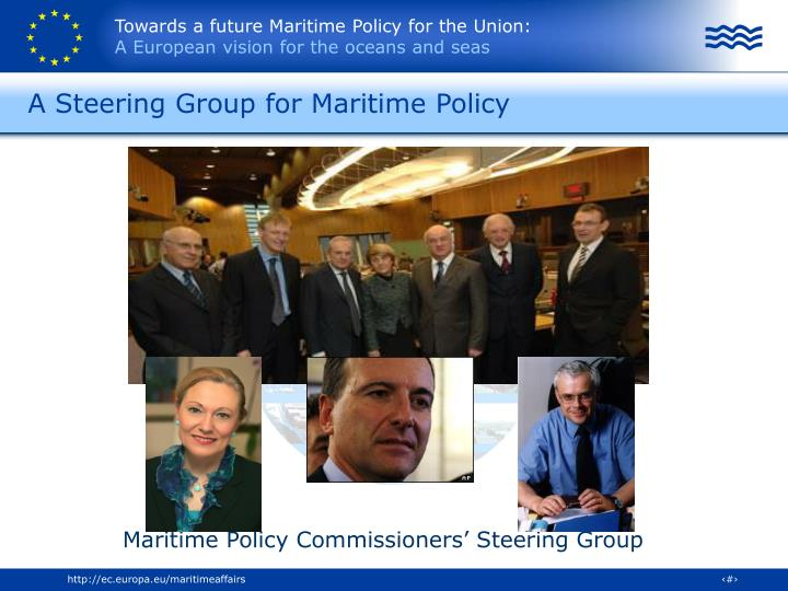 A Steering Group for Maritime Policy