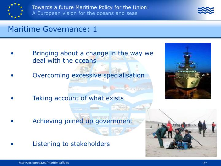Maritime Governance: 1