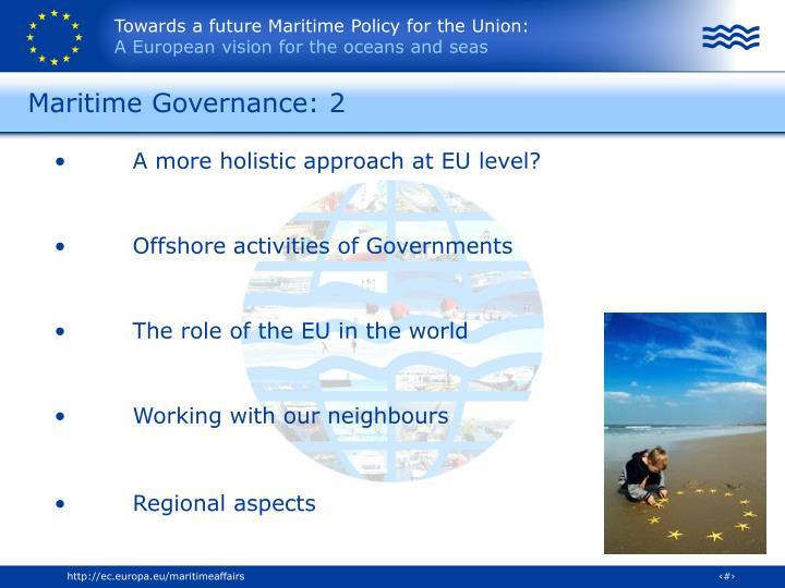 Maritime Governance: 2